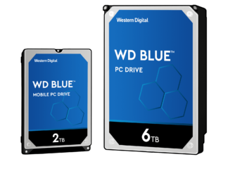 "WD HDD 3.5"" 1TB 5400RPM 64MB SATA 6GB/S BLUE"