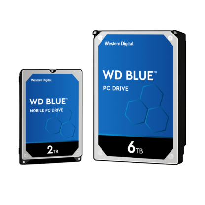 """WD HDD 3.5"""" 1TB 5400RPM 64MB SATA 6GB/S BLUE"""